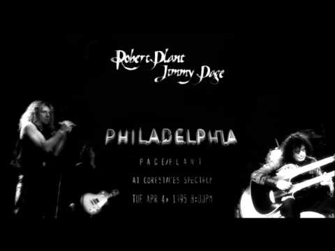 Jimmy Page & Robert Plant live in Philadelphia