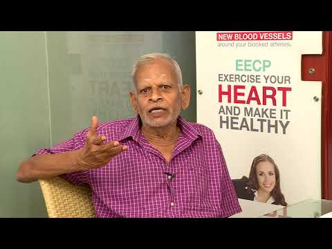 non surgical eecp treatment patient testimonial mr gopalakrishnan healyourheart eecp treatment
