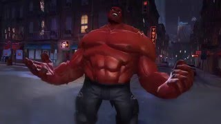 Red Hulk Unboxing, Profile and Gameplay - [Marvel Contest of Champions]