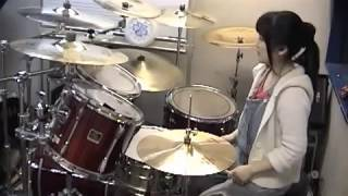 "Children of Bodom ""Living Dead Beat"" Drumcover - Fumie Abe -"