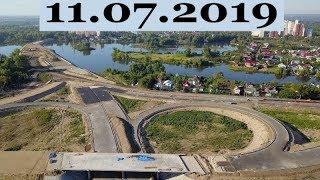 Фрунзенский мост 11-ый день работ на ул.Шоссейной