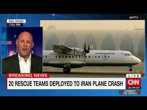 Another passenger plane crash - this time Iran