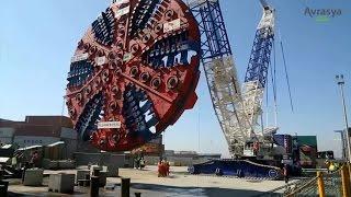 Muhteşem ! Avrasya Tüneli Nasıl Yapıldı Özellikleri Kaç Km Nerede Belgeseli Güzergahı