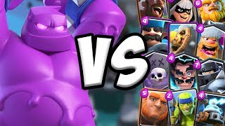 elixir-golem-gameplay-vs-all-cards-clash-royale