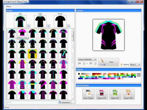 Rugby Jersey Design Software