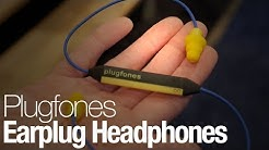 Hands-On WIth Plugfones, the Earplugs That Play Music