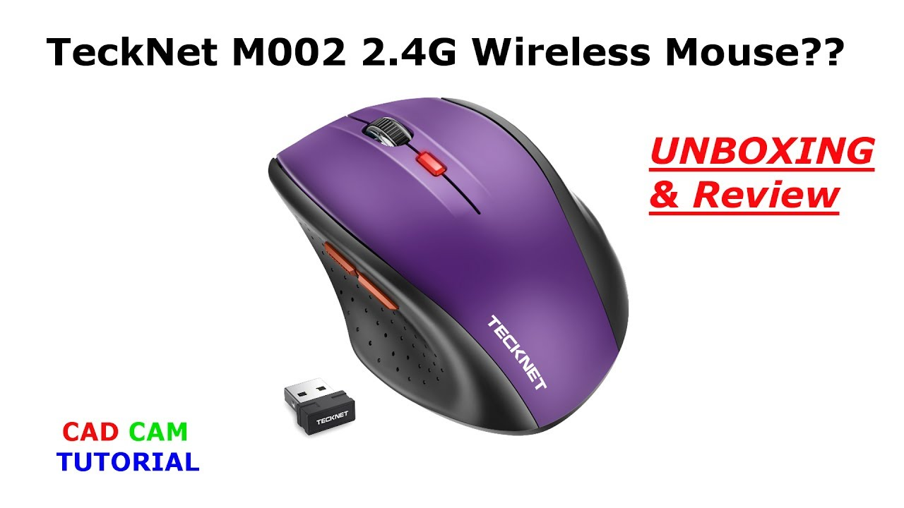 ff1fff2debb Unboxing and Review of TeckNet M002 2.4G Wireless Mouse - YouTube