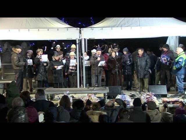 Gambatesa 1-1-2016: Inno dei camperisti
