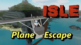 ISLE on ROBLOX: Escape by Plane