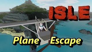 ISLE on ROBLOX: Escape by Plane