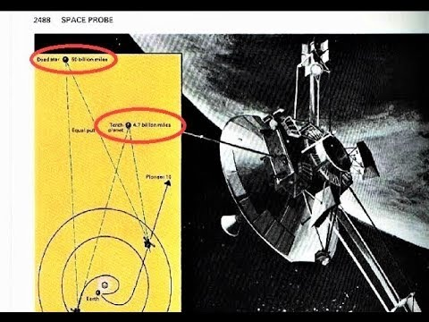 1987 Encyclopedia shows a 9th Planet and Binary Star Our Solar Sysyem! Pioneer 10