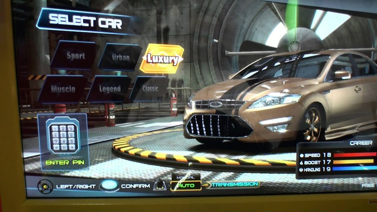Overtake Arcade Street Racing Video Game Bosa 2014