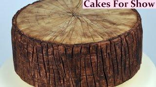 Making a Log Cake