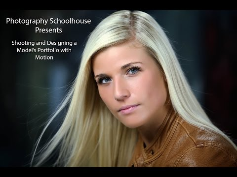 Shooting and Designing a Model's Portfolio with Motion