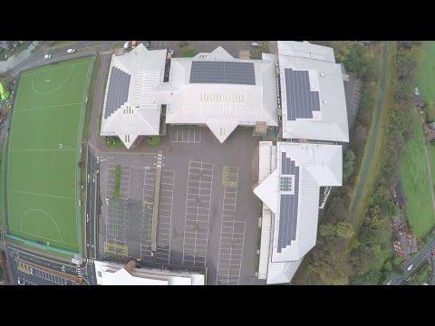 The University of Chester - 156kWp Solar Panel Installation