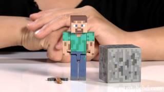 Игровые наборы Minecraft пластиковые обзор и отзыв
