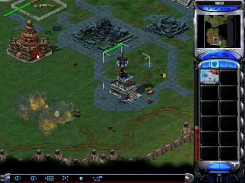 Red Alert 2 Allied Walkthrough - Mission 9: Sun Temple
