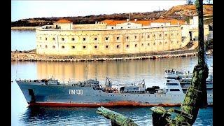 Navy ВМФ России Плавмастерская ПМ-138 ушла в Сирию На военно-морской базе ЧФ в Севастополе оживление