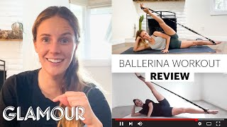 Pro Ballerina Scout Forsythe Tries 5 Ballet Workouts | Glamour