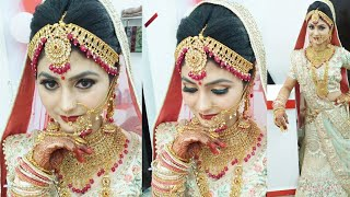 Baixar real bridal makeup (different style) with CTM step by step