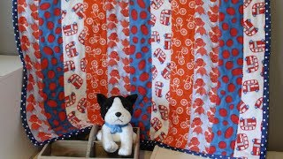 How To Sew An Easy Strip Quilt