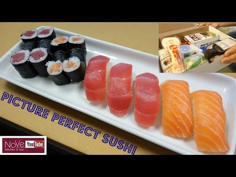 Download Perfectly Made Sushi Using A Sushi Kit - How To Make Sushi Series Pictures