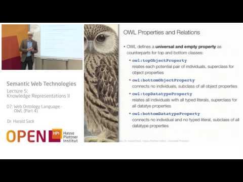 05 - 07 Web Ontology Language - OWL (4)