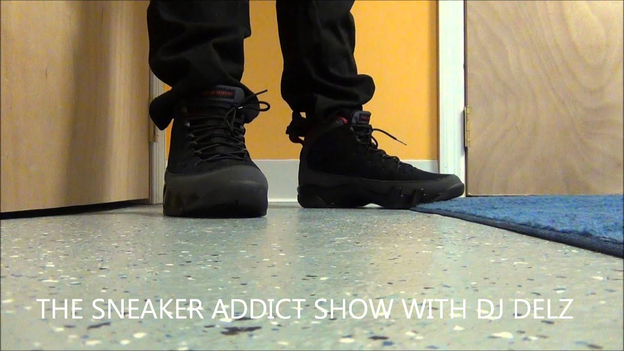 huge selection of 132b3 3fd2a 2010 Nike Air Jordan Charcoal 9 IX Sneaker Review + On Feet With  DjDelz Dj  Delz