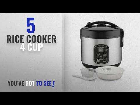 Best Rice Cooker 4 Cup [2018]: Hamilton Beach Rice & Hot Cereal Cooker, 4-Cups uncooked resulting