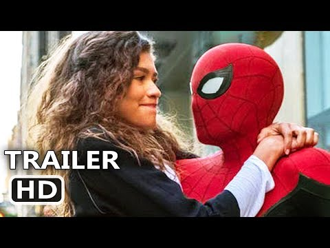 "SPIDER-MAN FAR FROM HOME ""MJ knows Peter's Secret"" Trailer (NEW 2019) Marvel Superhero Movie HD"