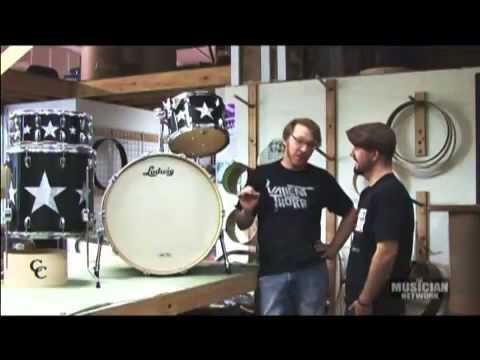 C&C Customs Drums Ringo Starr Drum Kit