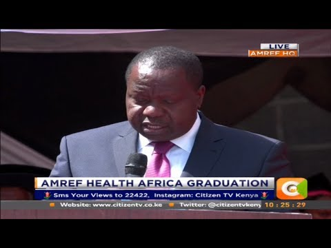 Citizen Extra : AMREF Health Africa Graduation