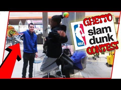 The Ghetto NBA Public Slam Dunk Contest!