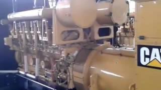 Caterpillar V16 Engine Inspection