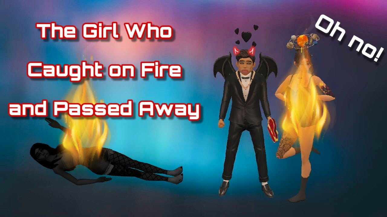 STALKER GETS CAUGHT ON FIRE | Avakin Life