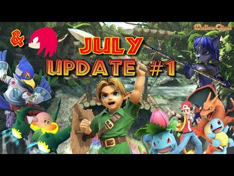 Super Smash Bros Ultimate: JULY BLOG ANALYSIS#1: Sonic, Young Link, Pokemon Trainer & Knuckles