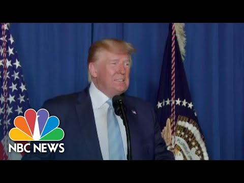 President Donald Trump Delivers Remarks On U.S. Airstrike That Killed Iranian General | NBC News