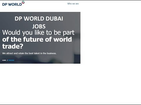 DP World Dubai Jobs