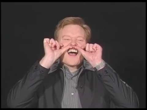 Conan O'Brien's raw voice acting and interview for Space Ghost Coast to Coast