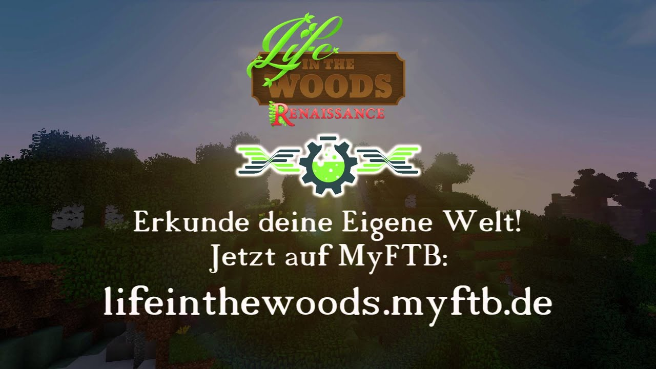 MyFTB Life In The Woods Server YouTube - Minecraft server erstellen life in the woods