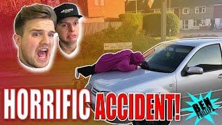 NANA CAR CRASH PRANK!!