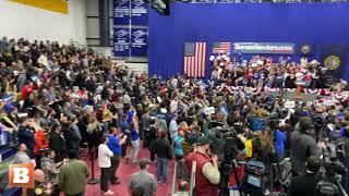 WATCH: Bernie Sanders Rally Boos Pete Buttigieg as He Speaks on CNN