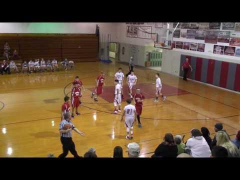20161219 1 of 3 Bedford Junior High School Michigan 7th grade boys red team vs Monroe