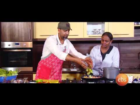 Giordana's kichen show with cook Behayilu