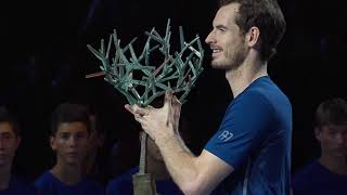 Andy Murray's amazing end to 2016: best hot shots and highlights