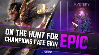 Vainglory - Chest Opening: SKIN HUNTING!! [Champion's Fate Blackfeather]
