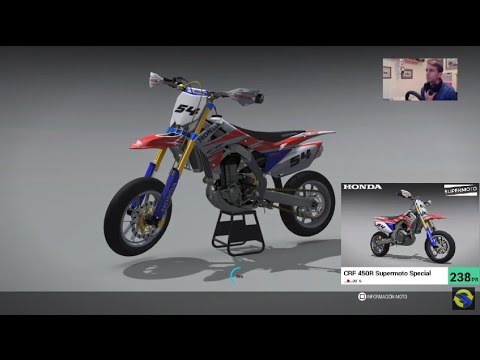 Ride 2 Preparando La Honda Crf 450r Supermotard Special Youtube