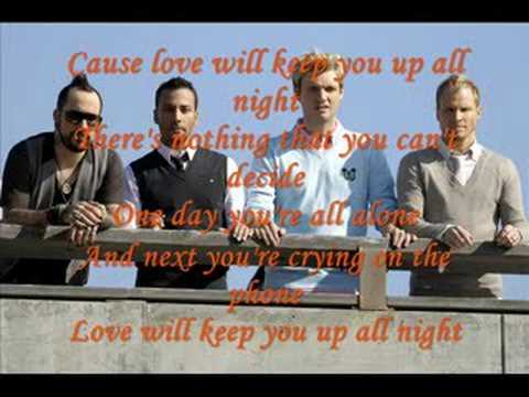 backstreet boys-love will keep you up all night(unbreakable)