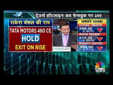 Nifty में सपाट कारोबार | Stock Market News Today | CNBC Awaaz
