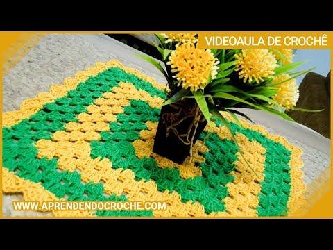 Toalhinha de Croche Nacional - Aprendendo Crochê - YouTube